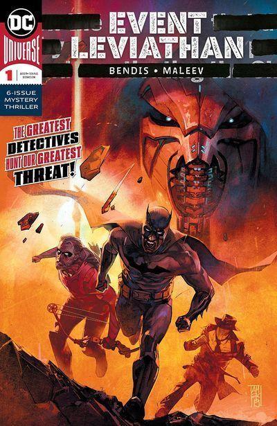 Event Leviathan 6 De 6 Evento Dc Espanol Mega Comics Dc Comics Brian Michael Bendis
