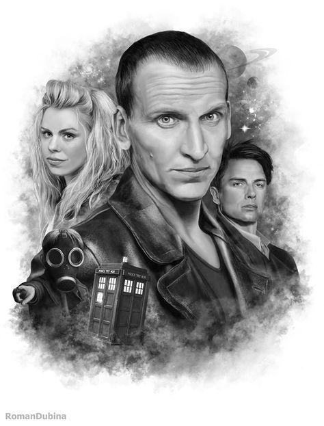 Doctor Who (9th Doctor) by RomanDubina on DeviantArt