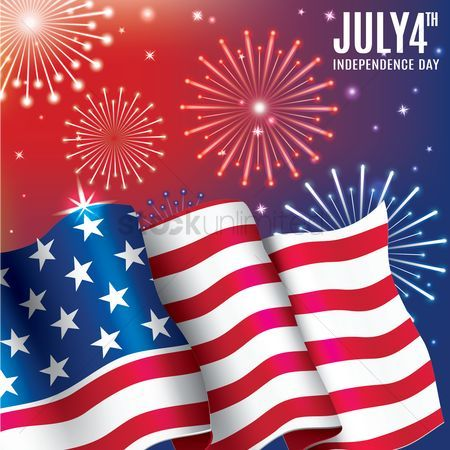 10 best Independence Day - USA - Graphic Design Art Illustration - independence day flyer