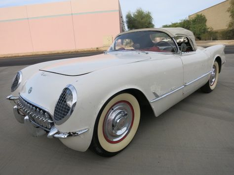 No Reserve: All Original 1954 Chevrolet Corvette Project