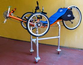 View Of Trike Rack With Trike On It Bike Building Pinterest