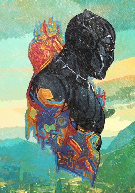 Let's Post Black Panther Fan Art