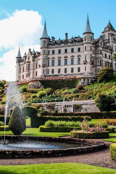 Dunrobin Castle Golspie Scotland travel blogger UK