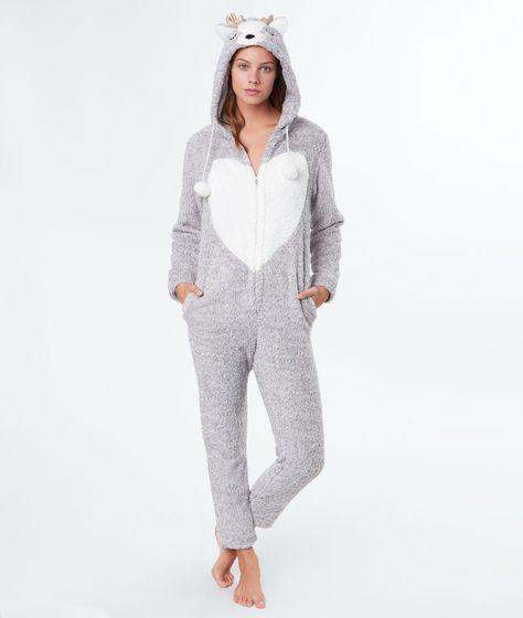 acheter populaire 048b1 59252 Combinaison pyjama cerf - Etam | pyjama | Pyjama, Pyjama ...