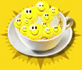 Emoji Smile GIF - Emoji Smile Coffee GIFs