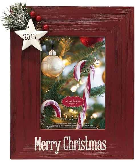 St Nicholas Square Merry Christmas 2017 5 X 7 Frame Products