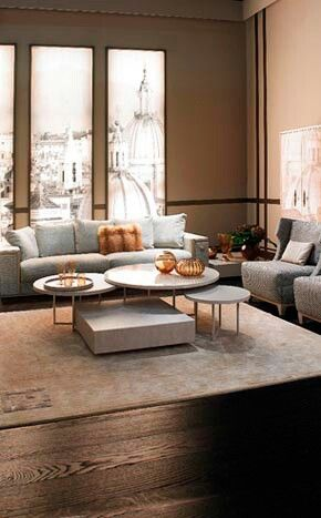 Fendi Casa, FF CASA Prestige Sofas And Olimpic Onyx Coffee Table | Diseño.   Salas, Salones, Salitas. | Pinterest | Fendi, Coffee And Living Rooms