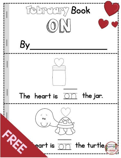 FREEBIE - Valentine's Day Book - Valentines Day Reading Activities for kindergarten and Pre-K - FREE printables Valentines Day Book, Valentines Day Activities, Sight Words, Sight Word Book, Kindergarten Activities, Books For Kindergarten, Valentines Writing Kindergarten, Speech Activities, Mini Books