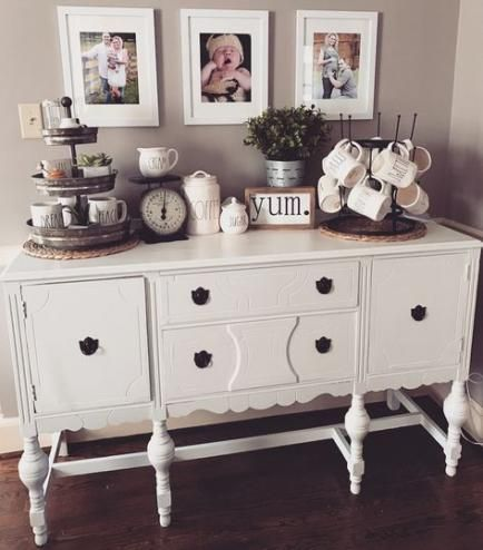 New Farmhouse Table Decor Buffet 48 Ideas Dining Room Buffet