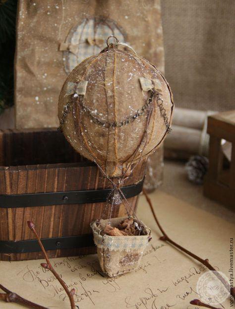 гадание на кофе воздушный шар с корзиной