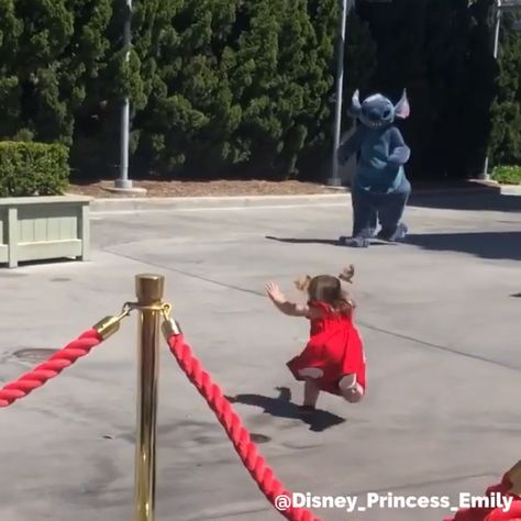 "😲 You can't use ""Andy's Coming"" anymore . . . so . . . here's how to get a #Disney character to fall down! 🤣  via @disney_princess_emily  #disneyfun #disneycharacters #disneylife #disneyside"