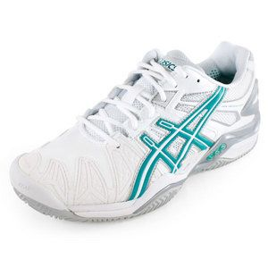 Asics Womens Gel Resolution 5 Clay Court Shoe Womens Tennis Shoes Clay Court Tennis Shoes Stylish Tennis Shoes