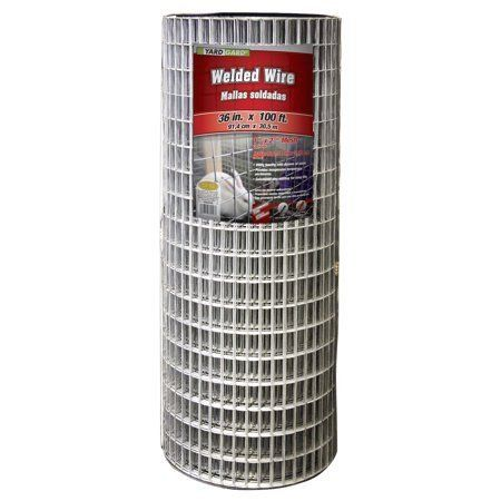 Yardgard 36 Inch By 100 Foot 14 Gauge 1 Inch By 2 Inch Mesh Galvanized Welded Wire Walmart Com 1000 In 2020 Welded Wire Fence Wire Fence Metal Fence