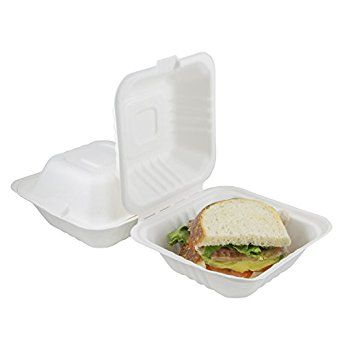 Houseables Takeout Containers To Go Box Restaurant Take Out Food