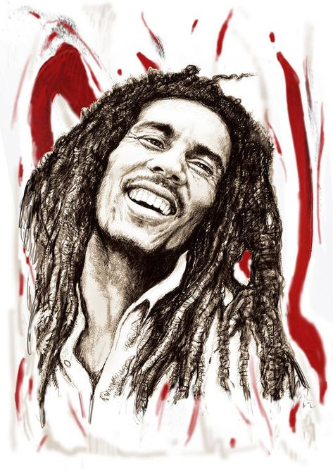 Bob Marley Colour Drawing Art Poster Art Print by Kim Wang. All prints are professionally printed, packaged, and shipped within 3 - 4 business days. Choose from multiple sizes and hundreds of frame and mat options.