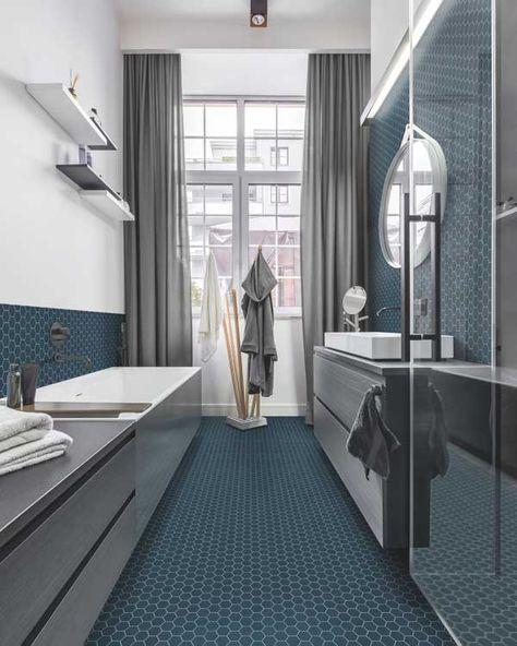 270 Ideas De Baños Estrechos Alargados Diseño De Baños Disenos De Unas Baño Estrecho