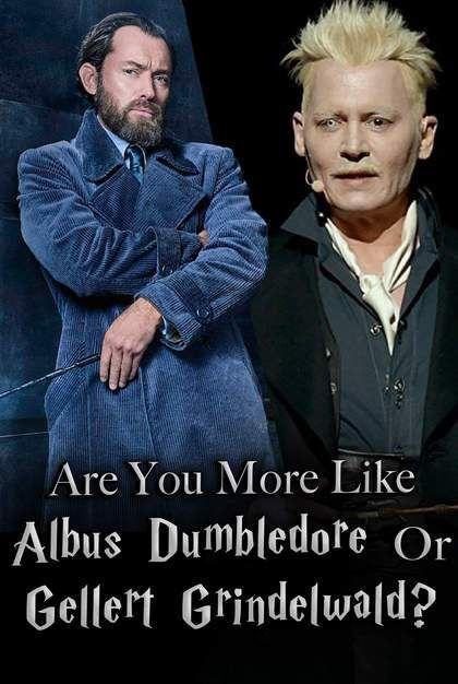 Quiz: Are You More Like Albus Dumbledore Or Gellert