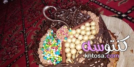 طريقة تحضير تورتة الشيكولاتة الذيذة طريقة عمل التورتة بالشيكولاتة بالصور تورتة شيكولاتة وكريمة Food Breakfast
