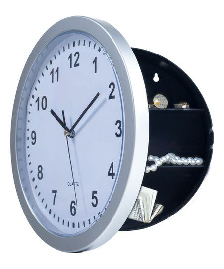 Stalwart Hidden Safe Wall Clock Zulily In 2020 Wall Clock