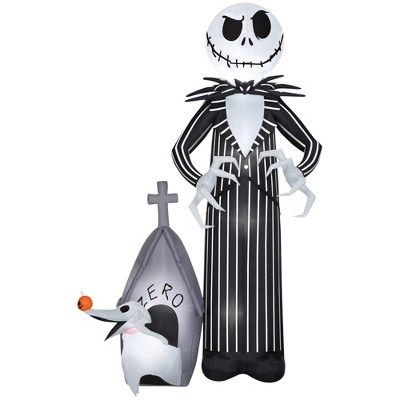 Nightmare before Christmas inflatable Halloween decorations