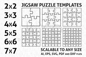 نتيجة بحث الصور عن Puzzle Template Svg Free Jigsaw Puzzles Dxf