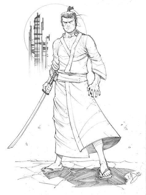 Samurai Jack By Max Dunbar On Deviantart Samurai Desenho