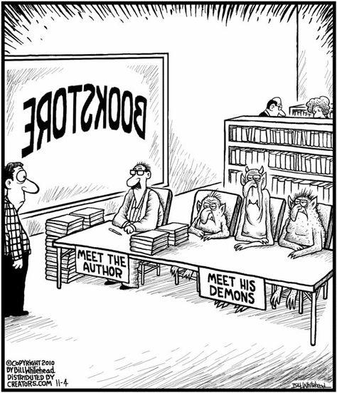 Meet the Author #cartoon