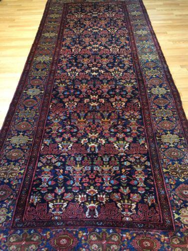 Beautiful Bakhtiari 1910s Antique Zele Sultan Rug Tribal Malayer 5 3 X 13 Ft Tribal Rug Tribal Carpets Rugs