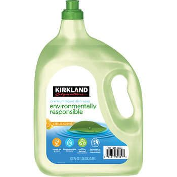 Kirkland Signature Environmentally Responsible Liquid Dish Soap