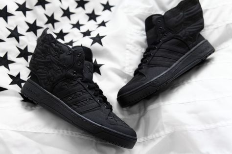 cheap for discount 37610 e826c ASAP Rocky   Jeremy Scott Launch adidas Originals  Black Flag  Collaboration  in NY