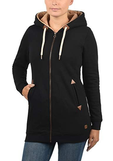 desires vicky straight-zip damen sweatjacke