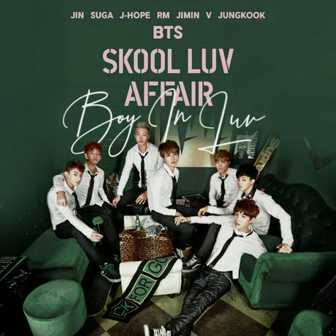 Bts Boy In Luv Skool Luv Affair Album Cover By Lealbum In 2019