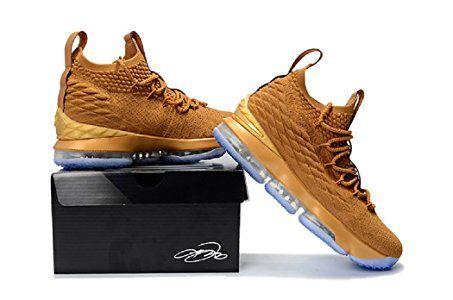 7cca199c8ee41 2018 Lebron XV Coco Brown Basketball Shoes,Lebron James 15 NBA ...