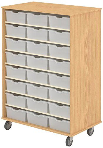 Fleetwood 97 2386 116 000 Cdlelib Cabinet Holds 48 Large Gratnell