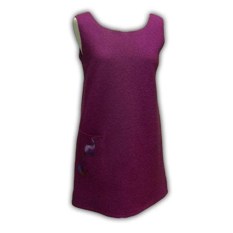 Woolen Pinafore Dress - Quilting Paradise
