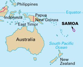 Adventure South Pacific Pacific Ocean And Ocean - Where is samoa