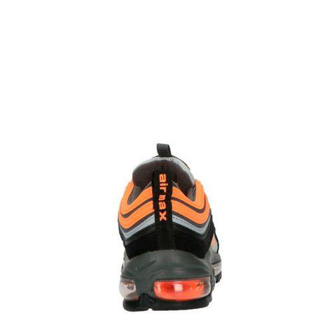 air max grijs oranje