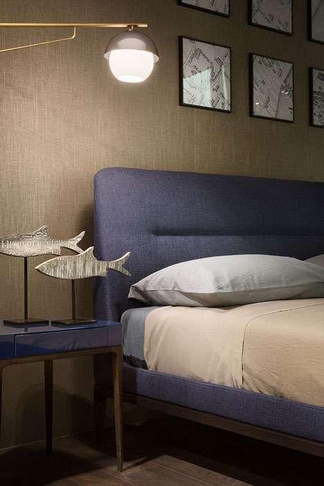 In the bedroom, to your right. Lema Mobili 2018 Letto E Comodino Lema Bedroom Interior Bed Design Interior Design