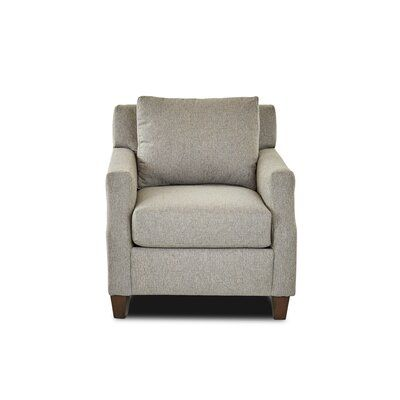 Birch Lane Heritage Jolien Armchair Upholstery Material Body Fabric Hall Dolphin Solid Wood Dining Chairs Quilted Armchair Washable Slipcovers