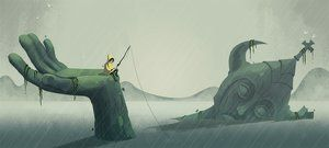 Cory Osterberg art portfolio, includes concept art, design, and visual development for animation and video games.