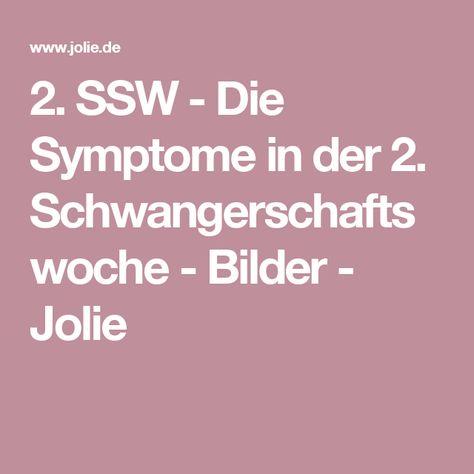 2. SSW - Die Symptome in der 2. Schwangerschaftswoche - Bilder - Jolie