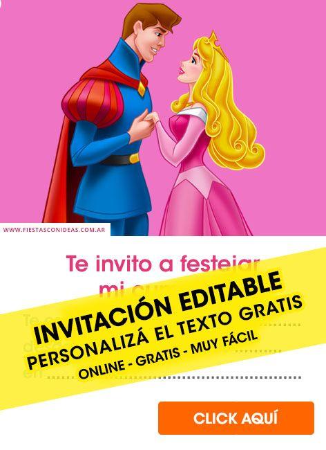 45 Hermosas Invitaciones De Princesas Disney Gratis Para Editar Personaliza Invitaciones De Princesas Disney Princesas Disney Blanca Nieves Invitaciones