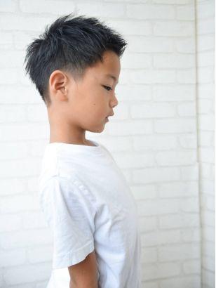 2019年春 メンズ ベリーショート キッズの髪型 ヘアアレンジ 人気