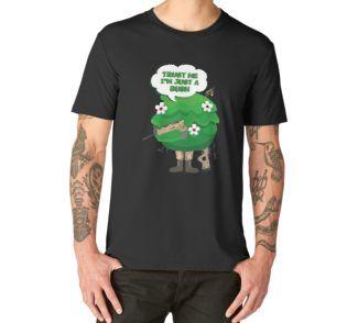 Gaming Bush Camper Kids T Shirt