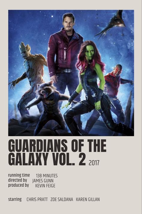 Guardians Of The Galaxy Vol. 2 Polaroid Poster