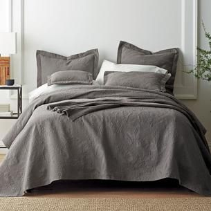 Image result for DUSTY GREY BED SPREAD