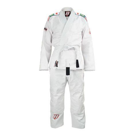 Ju-Sports BJJ-Anzug Extreme White 2.0 Kampfsport