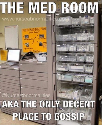 And The Supply Room Lol Nurse Nurse Jokes