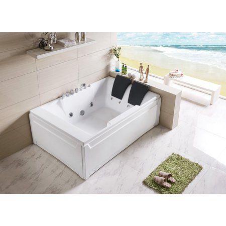 2 Person Soaking Tub Plus Shower With Images Bathroom Tub