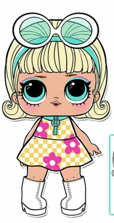 Have Go Go Girl Confetti Pop Series 3 Wave 1 Lol Cizimler Boyama Kitaplari